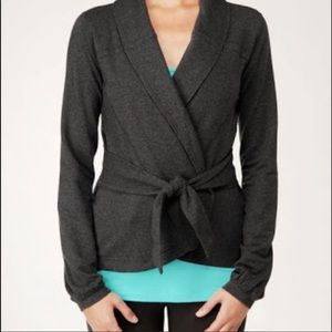 Lululemon Dance Pulse Wrap cardigan jacket